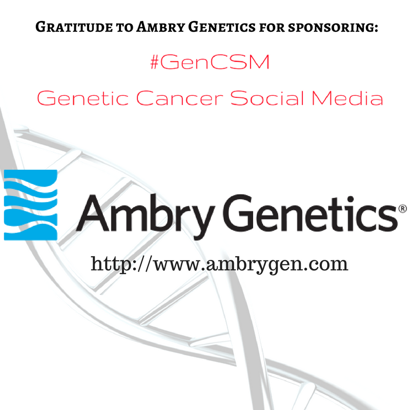 #GenCSM @AmbryGenetics https://t.co/A5oRNtDqyo