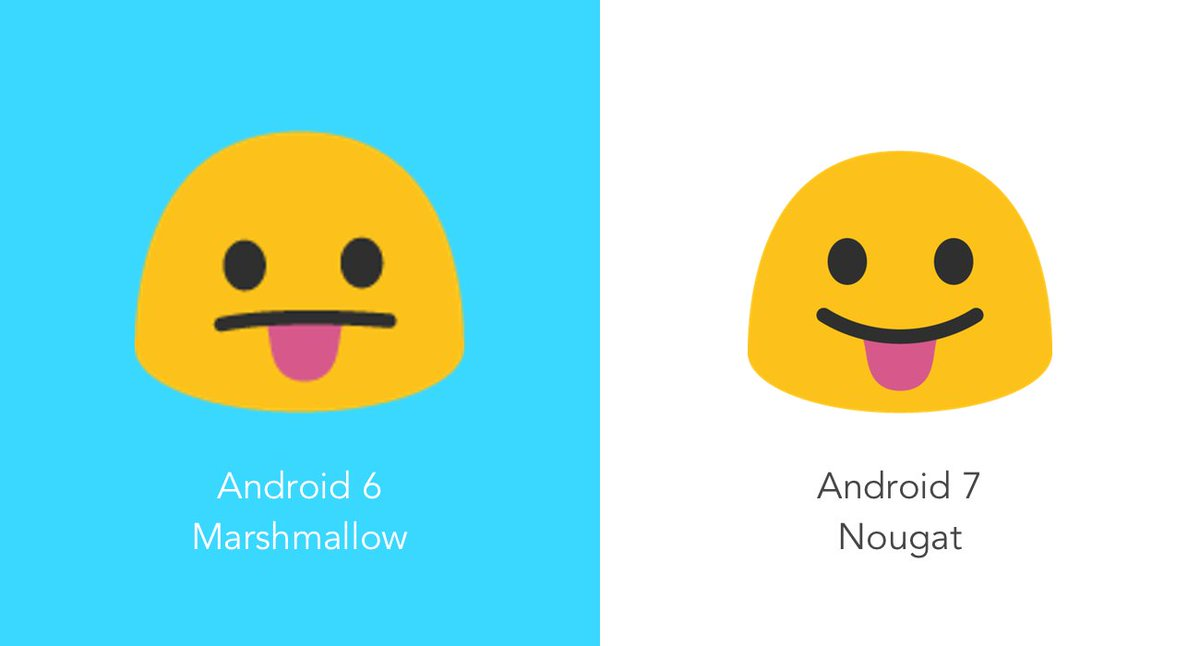 Emojipedia On Twitter Face With Stuck Out Tongue Now Smiles