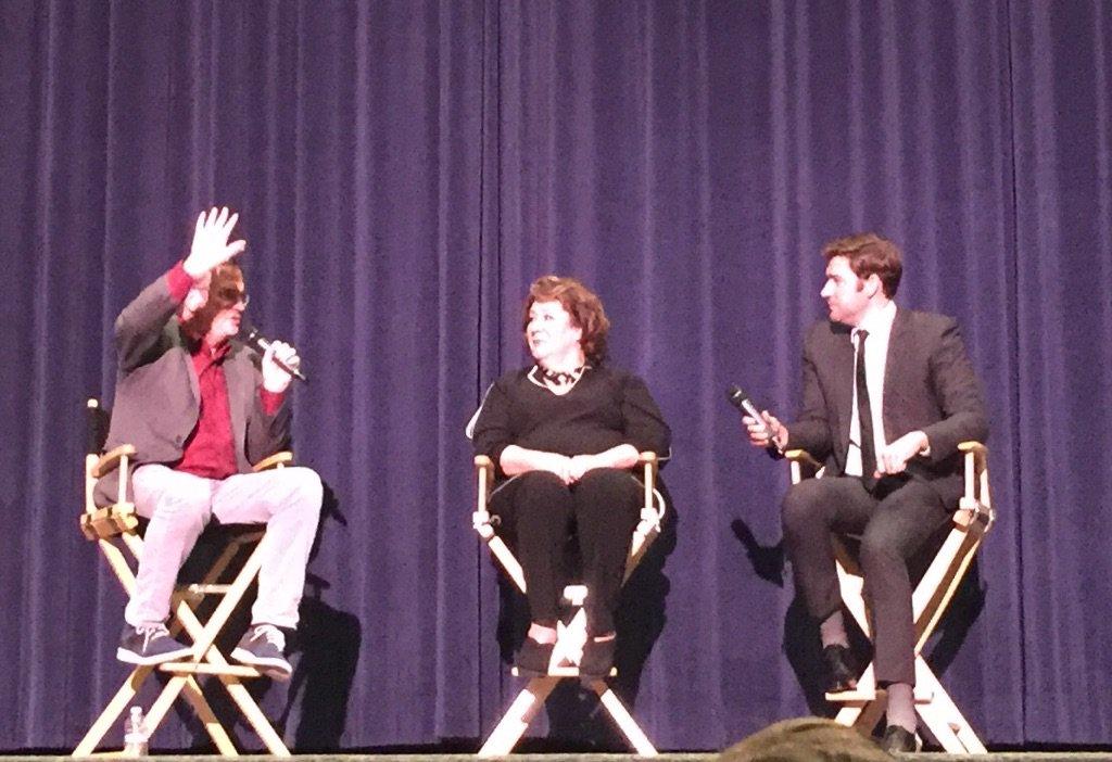 Q&A with John Krasinski and Margo Martindale after the BEST movie The Hollars. @AnnaKendrick47 + @joshgroban rocked! https://t.co/gNIYVvw4mz