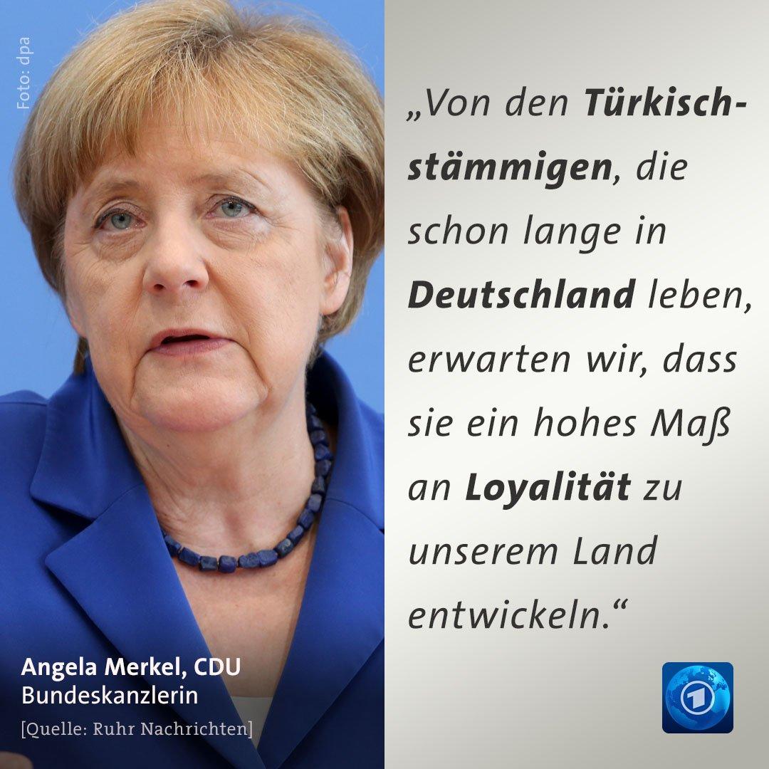 """Tagesschau On Twitter """"Bundeskanzlerin Merkel Richtet Einen Appell"""