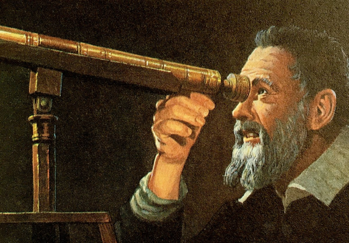 a recount of the life of galileo galilei Scene 1 in the year sixteen hundred and nine science' light began to shine at padua city, in a modest house, galileo galilei set out to prove the sun is still, the earth is on the move.