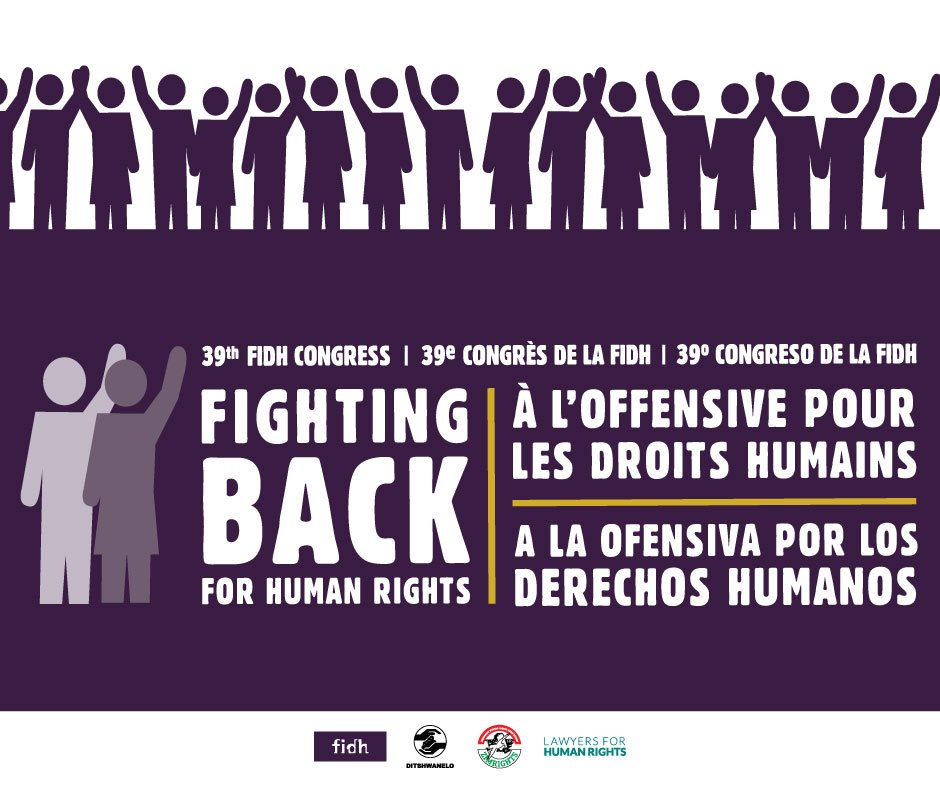 Thumbnail for FIGHTING BACK FOR HUMAN RIGHTS