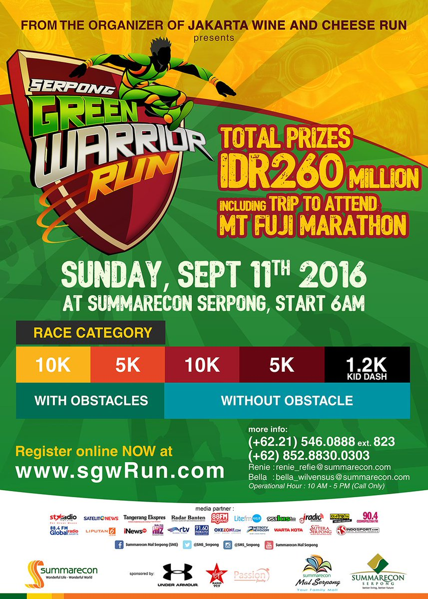 Serpong Green Warrior Run