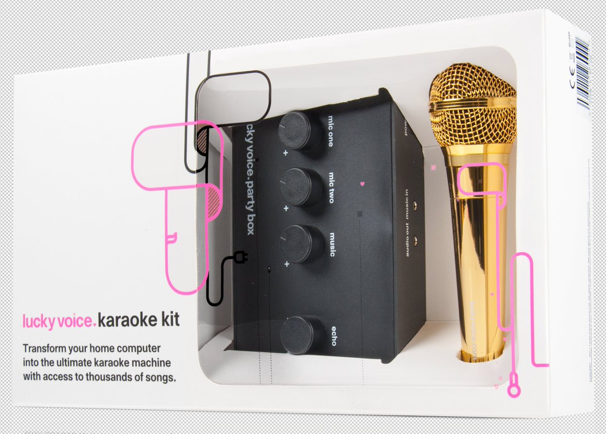 Last day of our #comp to #win a Gold Karaoke Machine. #RT and #follow to enter. https://t.co/GJmc711oQX https://t.co/LxphmJoAAd