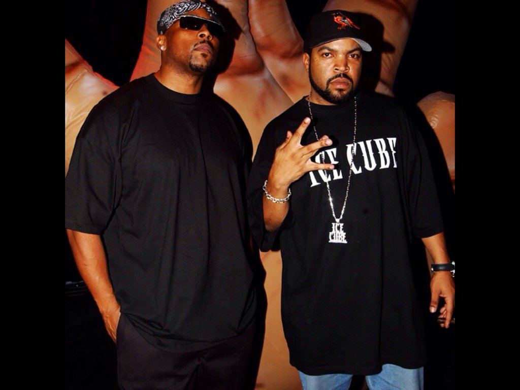 "Ice Cube on Twitter: ""Me and the homie Nate Dogg (RIP)…"