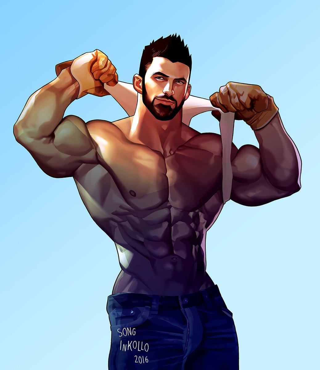 comics cartoon Muscle gay