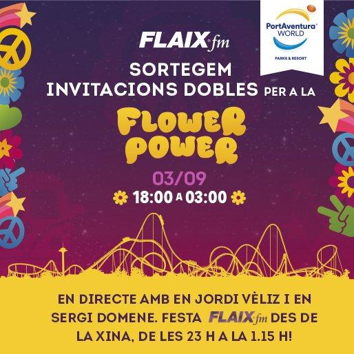 Vols guanyar invitacions? 1)Segueix per Twitter a @Portaventura_ES  i també @flaixfm 2)retuiteja aquest tuit. https://t.co/Q8q6OSfYKD