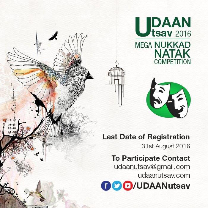 UDAAN On Twitter Utsav Will Be The Biggest Nukkad Natak