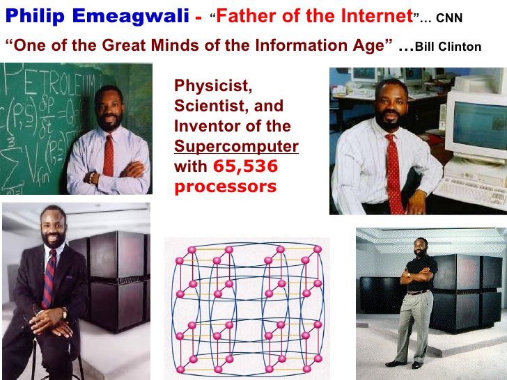"""SteveBikoFoundation on Twitter: """"#TodayInHistory: 1954 - Nigerian inventor of fastest the computer, Philip Emeagwali was born in Akure, Nigeria… """""""