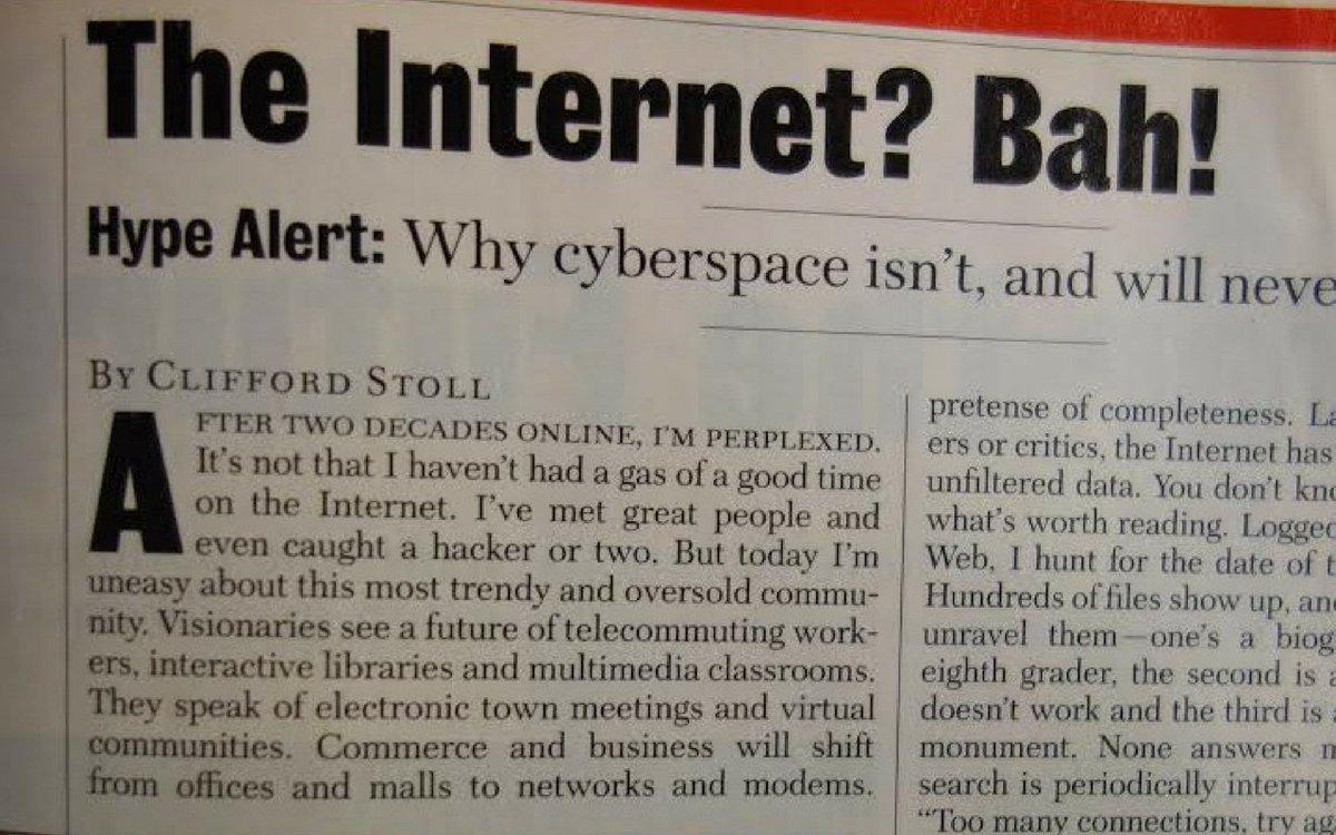 """""""Cyberschool"""" by Clifford Stoll Essay"""