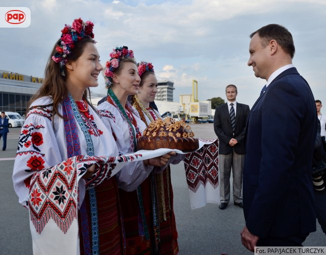 Президент Польщі уже прибув до Києва на святкування Дня Незадежності України - фото 1