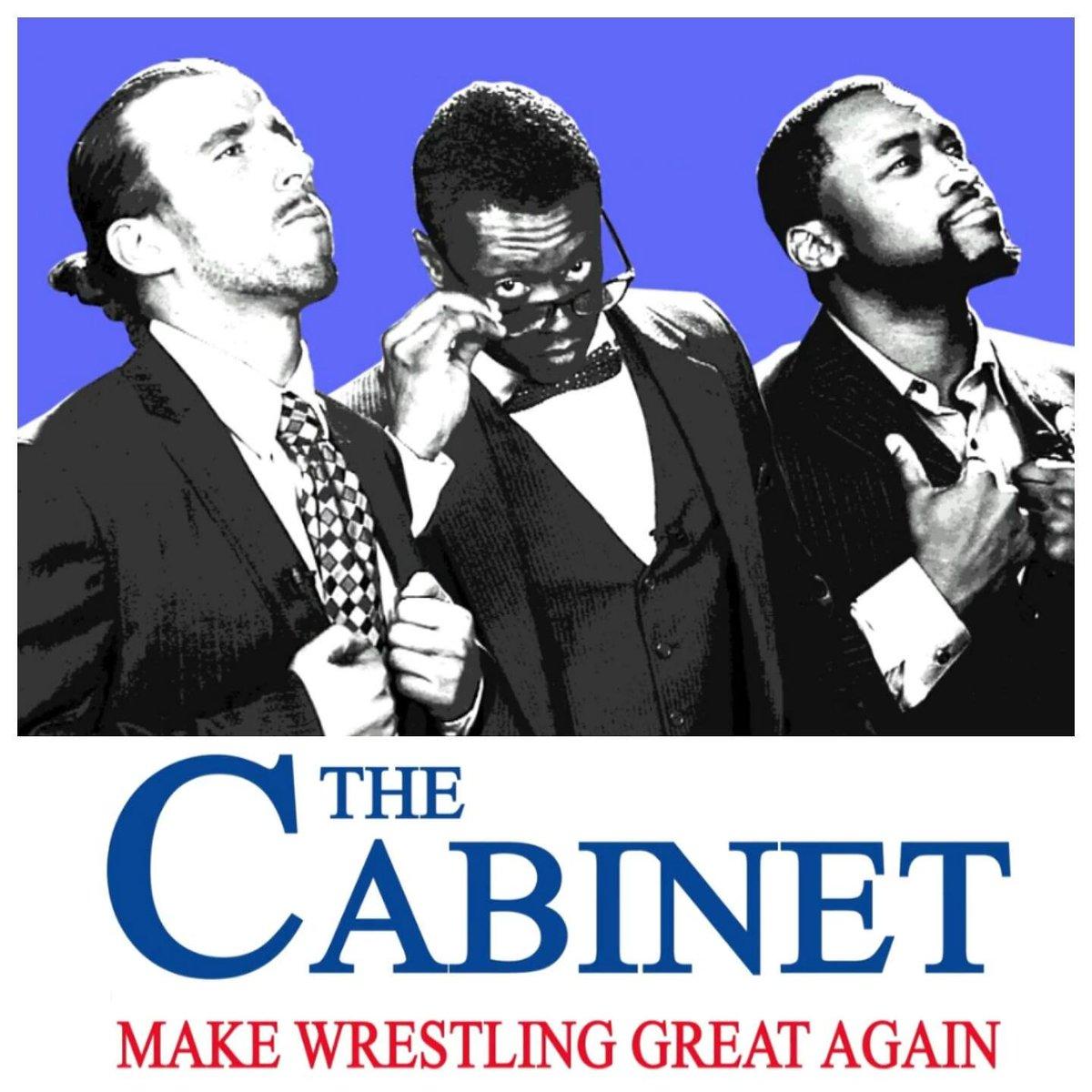 The Cabinet WILL make wrestling great again. #watchroh @CapriceColeman  @RhettTitusANX  @KennyKingPb2 @ringofhonor https://t.co/ELBhhq2BEZ