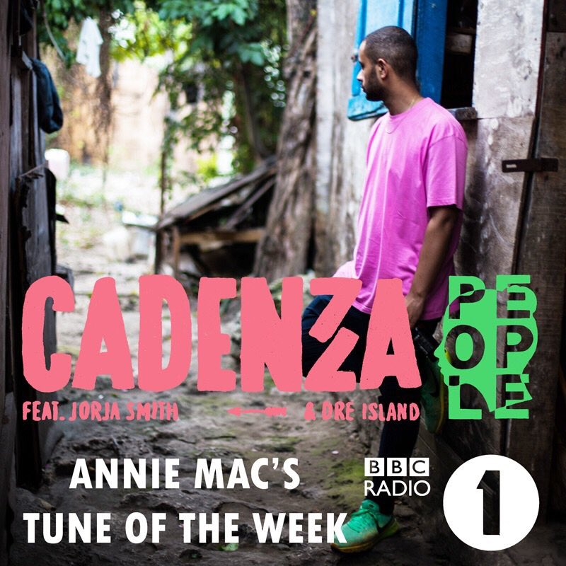 Thank you @AnnieMac @BBCR1 for making 'People' by @cadenza , featuring myself & @Dre_island1 your tune of the week 💚 https://t.co/v0XyztgXAx