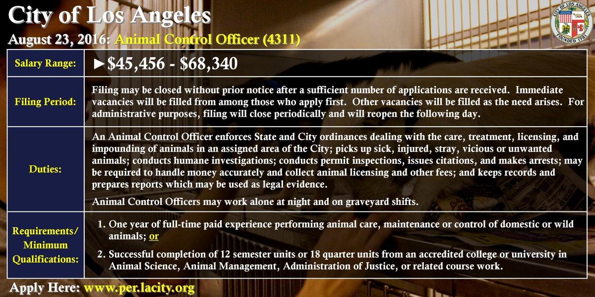 CityLosAngelesJobs on Twitter City of Los Angeles is hiring