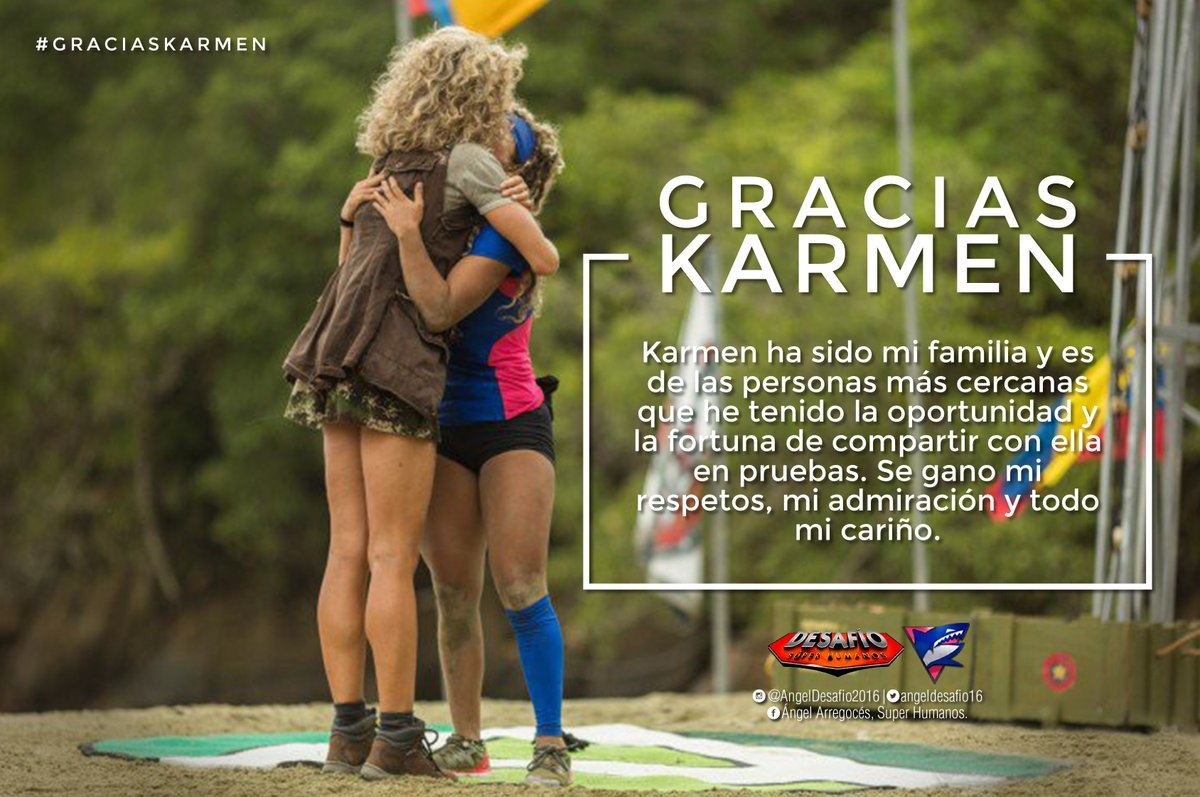 graciaskarmen hashtag on Twitter