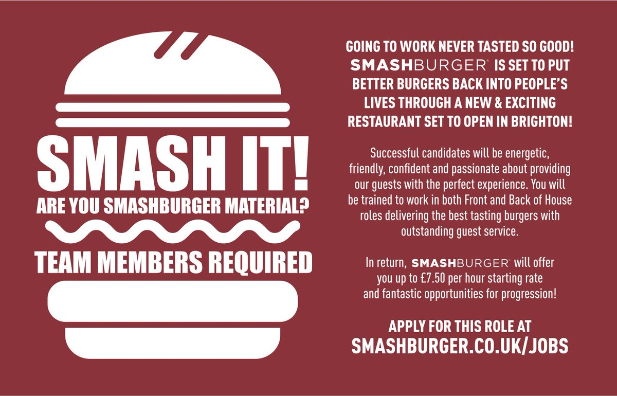 Smashburger UK on Twitter: \