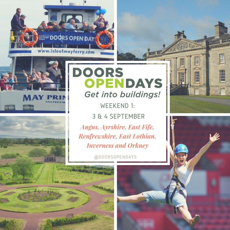 We're preparing for Weekend One of Doors Open Days 2016! #DOD2016 #IAD2016 #Scotland #september #FOA2016 #Heritage https://t.co/nVAB2jCo2S