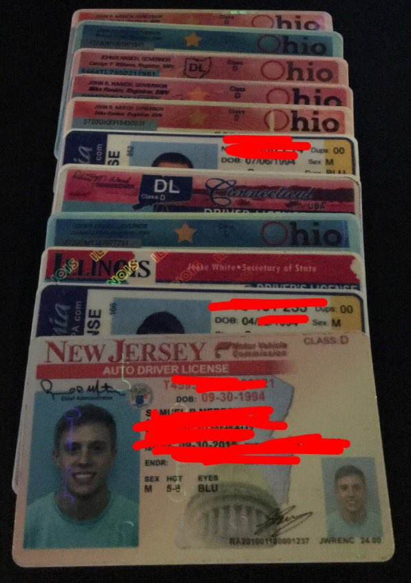 Presenting fraudulent ID's to #rushchasers last weekend was a bad idea! https://t.co/Zkf3pq6yWd
