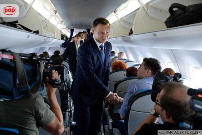 Президент Польщі уже прибув до Києва на святкування Дня Незадежності України - фото 2