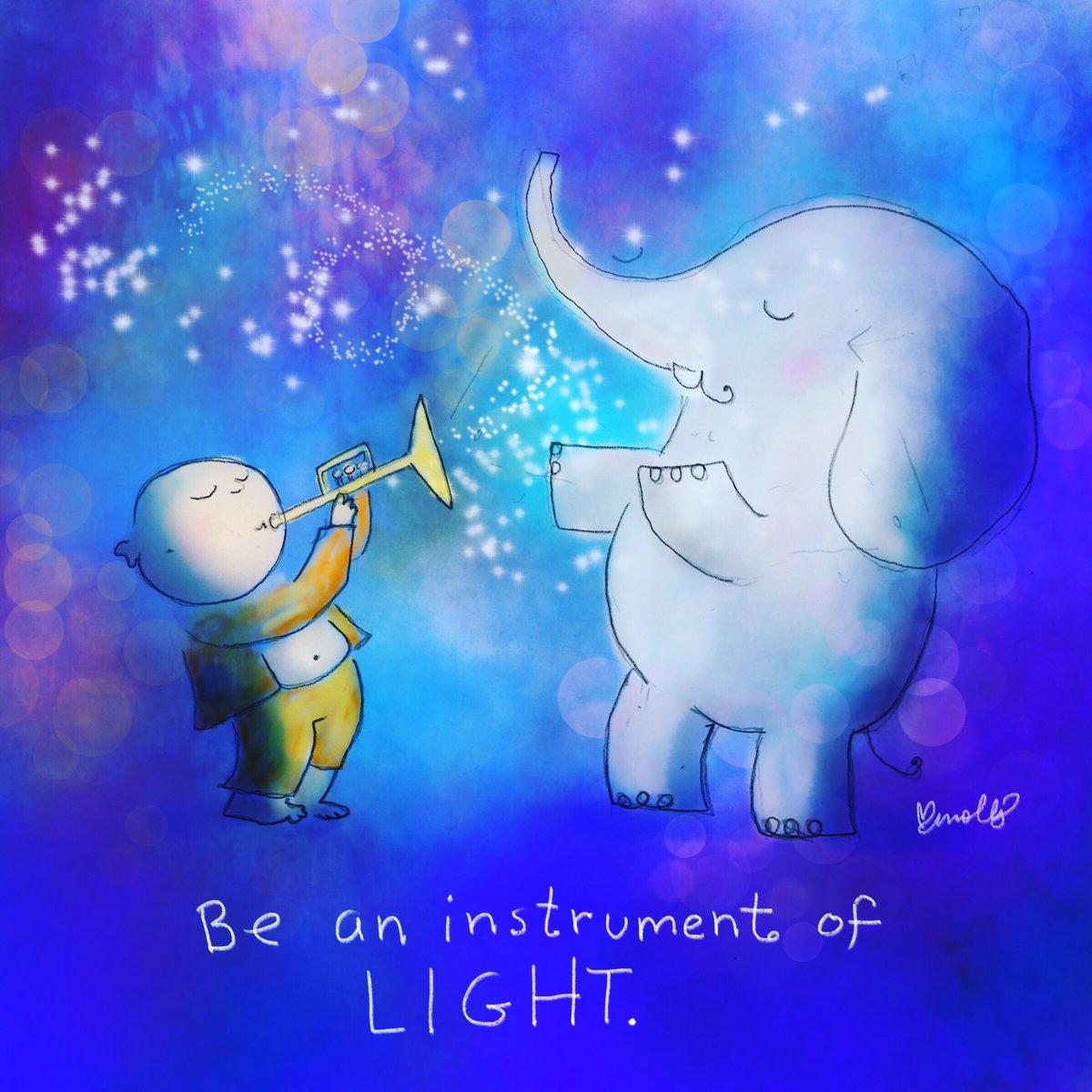 Be an instrument of #Love & #Light! #JoyTrain #Joy #Kindness #BeLove #BeKind #MentalHealth #Mindfulness #GoldenHearts #IAM #StarFishClub #FamilyTrain #kjoys00 #TuesdayMorning #TuesdayThoughts #TuesdayMotivation RT @BuddhaDoodles @SnowCalmth