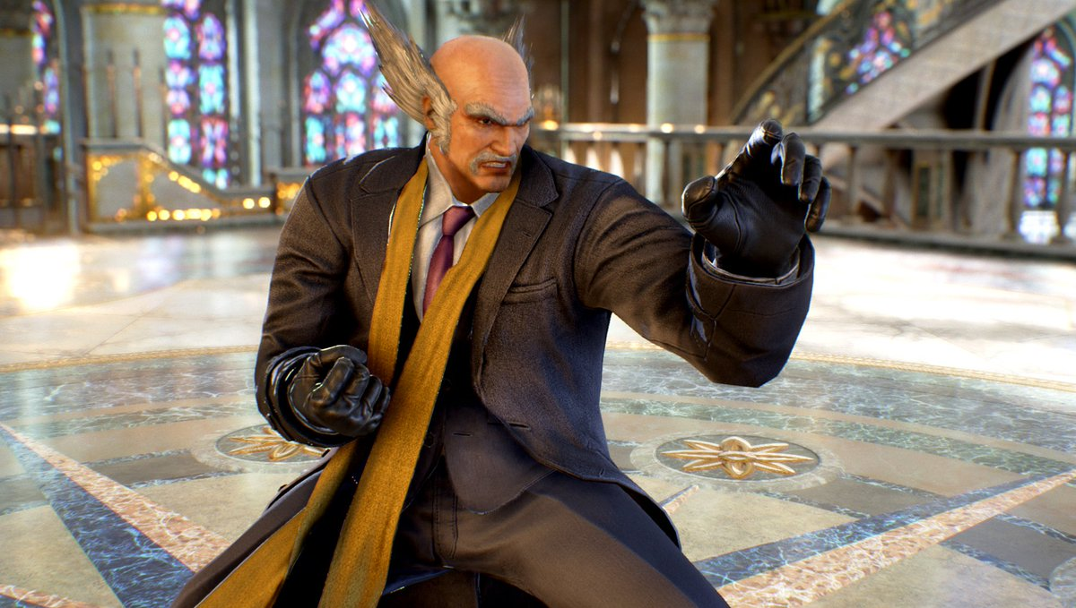 tekken on twitter sometimes heihachi likes to draw the attention away from his big bald head tekken bald head tekken