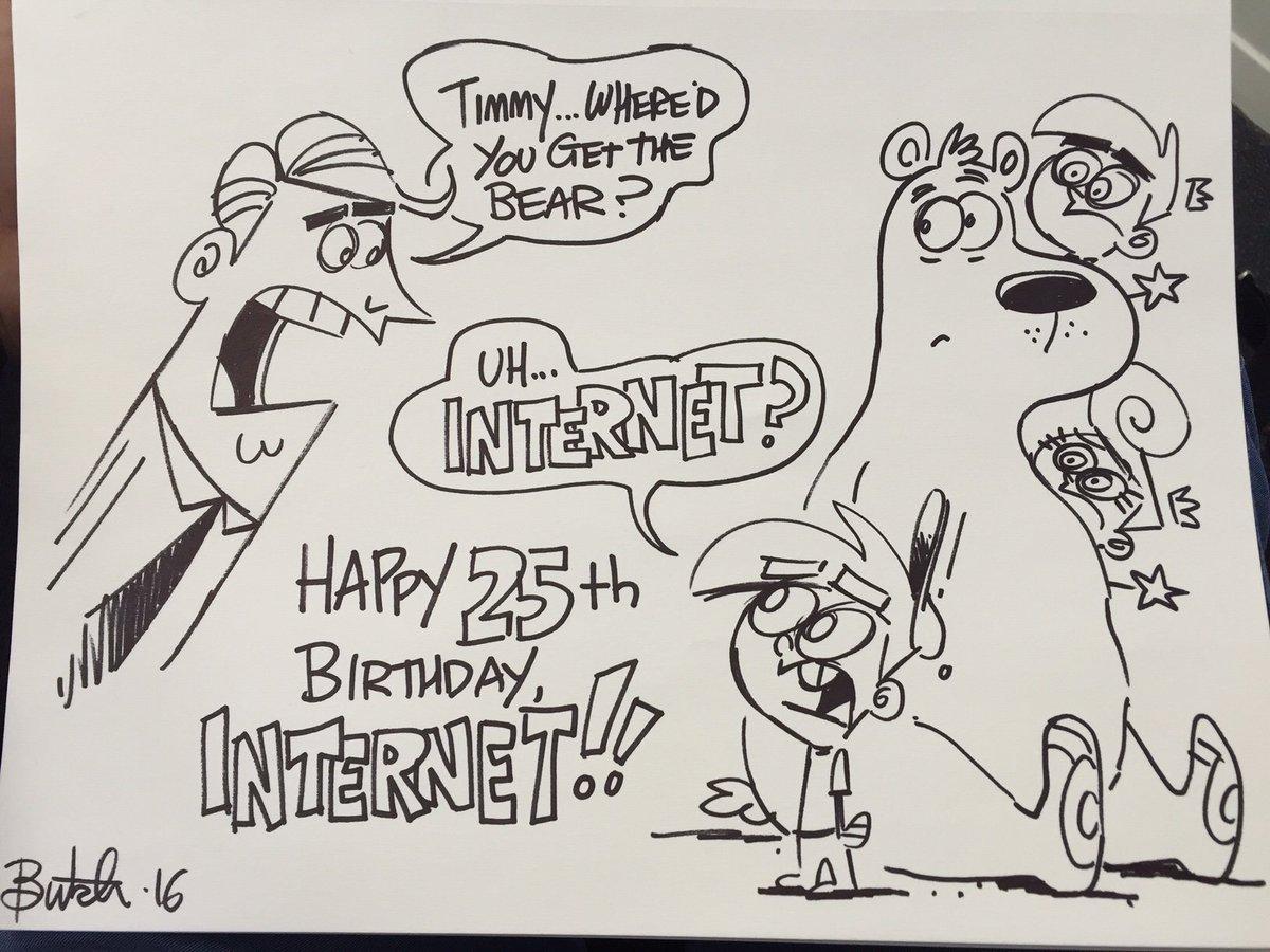 Happy 25th Birthday, Internet! #InternautDay https://t.co/kqzlNInCoj