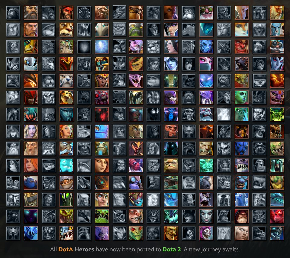wykrhm reddy on twitter all dota heroes have now been ported to