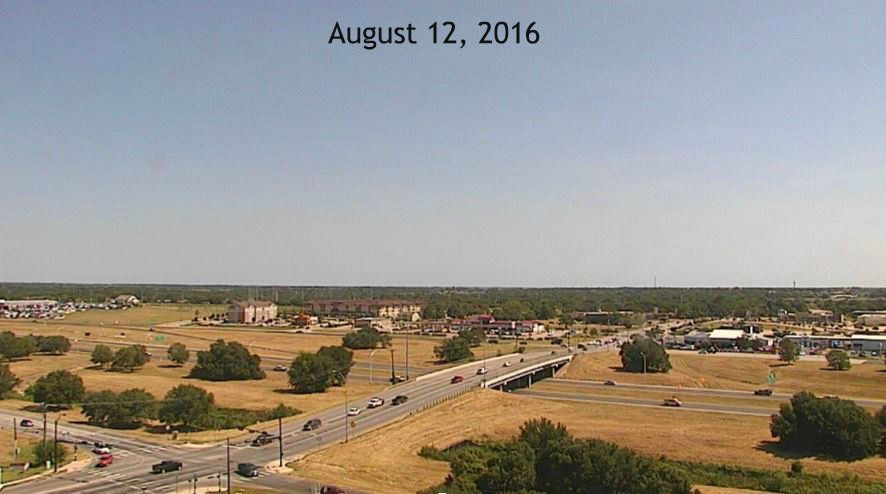 "Amazing what 8"" - 10"" of rain & 80° temps will do in just a few weeks time. View from Briarcreat & Hwy 6 in #bcstx https://t.co/HFhEezUk8P"