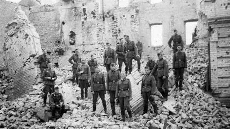 Фото брестская крепость во время вов
