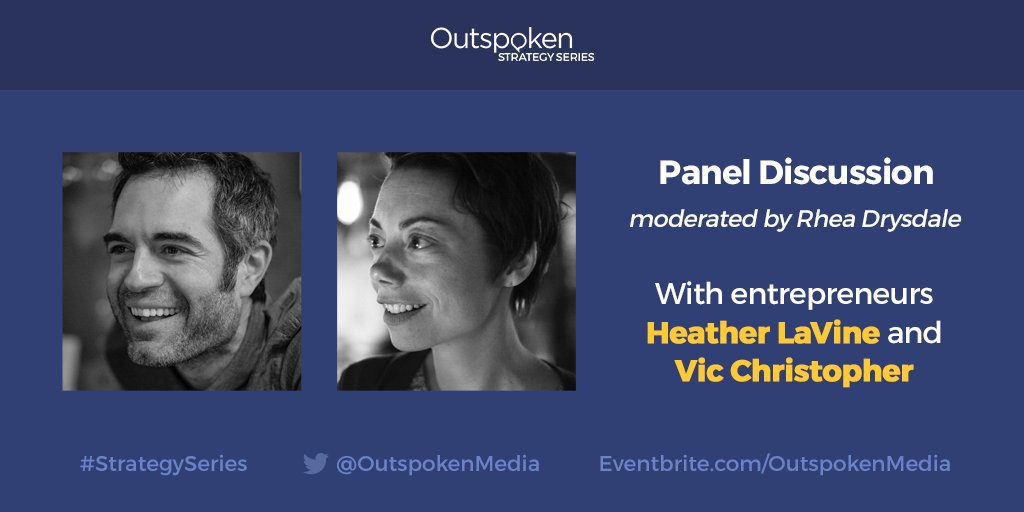 Excited to have @vicchristopher and @heatherlavineny speaking 8/30 @OutspokenMedia Register! https://t.co/QcRIQqevjW https://t.co/3s1Blplnni