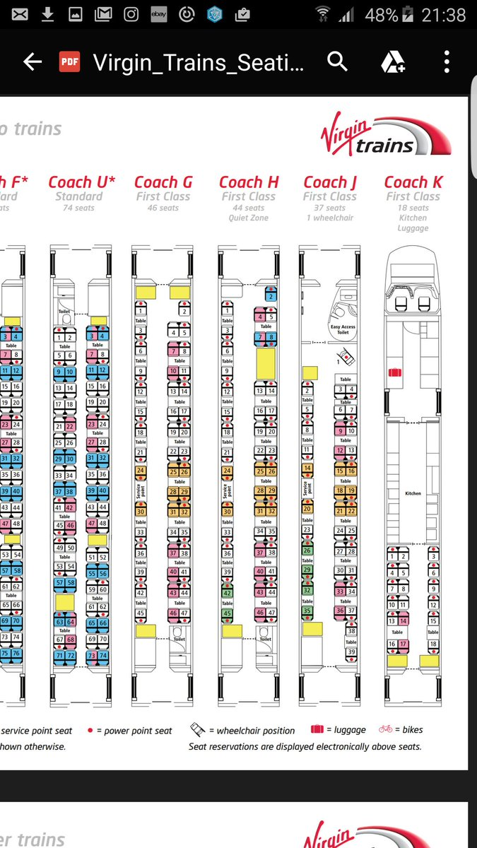 Trenitalia Seating Chart Trenitalia Wheelchair Seat Maps