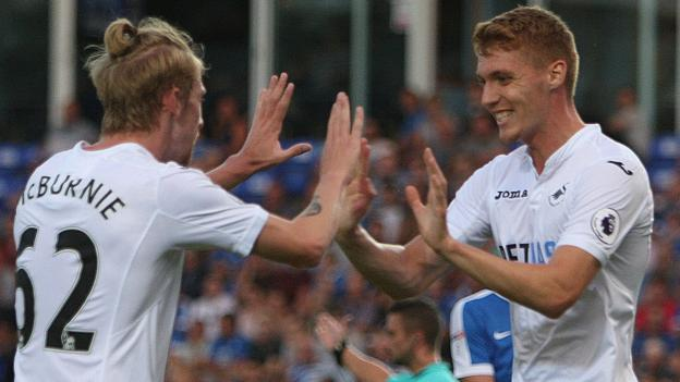 Video: Peterborough United vs Swansea City