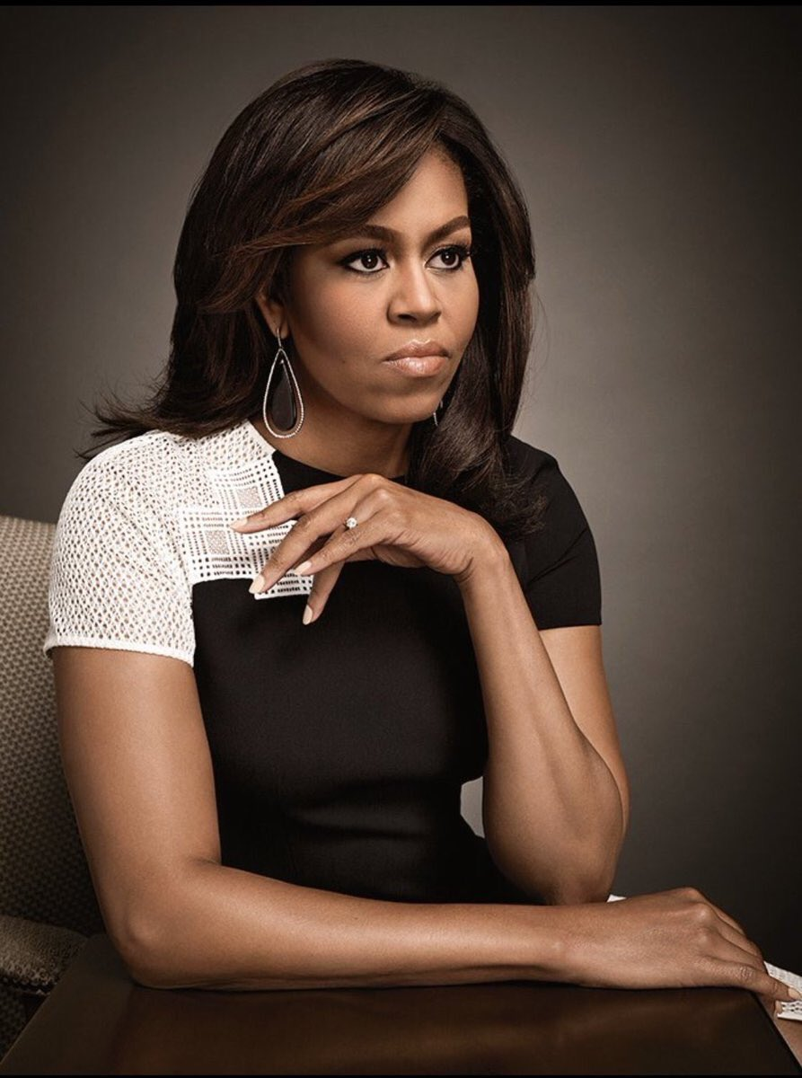 Image result for michelle obama first lady portrait