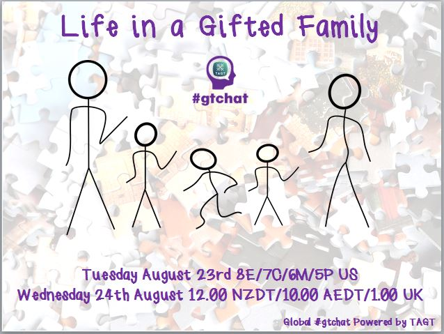 Thumbnail for #gtchat: Life in a Gifted Family