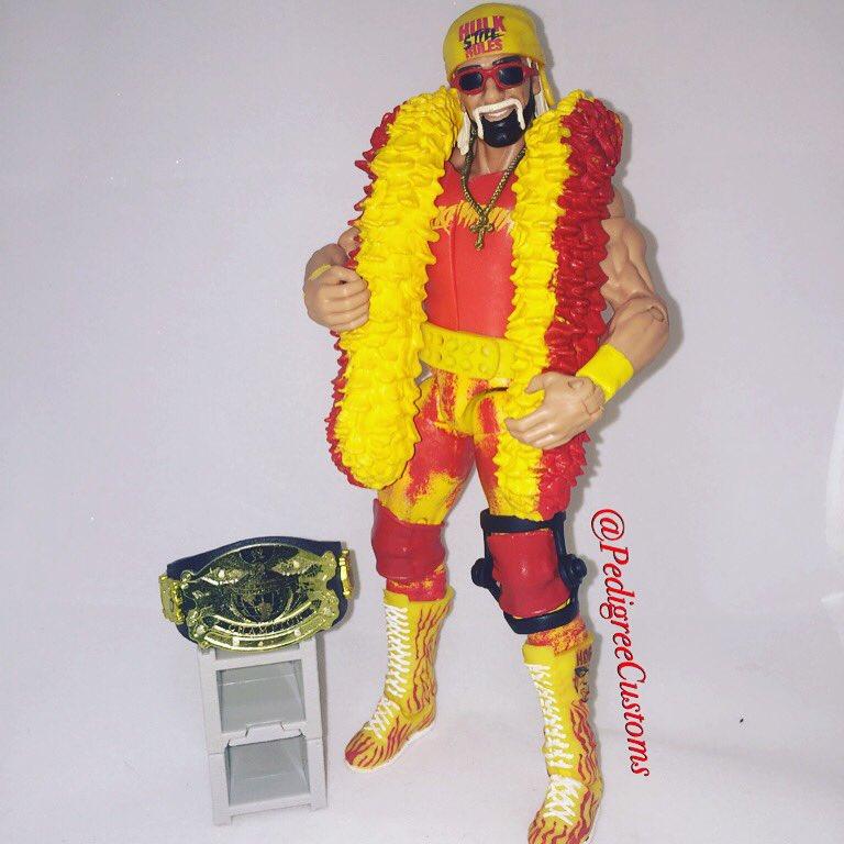 hulk hogan custom figure