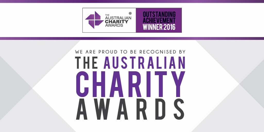 We have been recognised as a Winner of The Australian Charity Award for Outstanding Achievement in 2016. Woof woof! https://t.co/VPgbpZp0bl