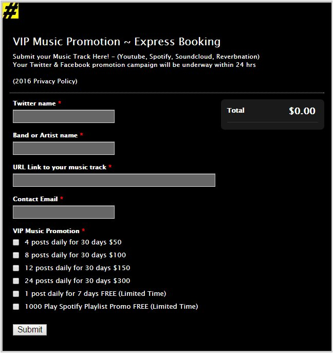 VIP Music Promotions on Twitter: