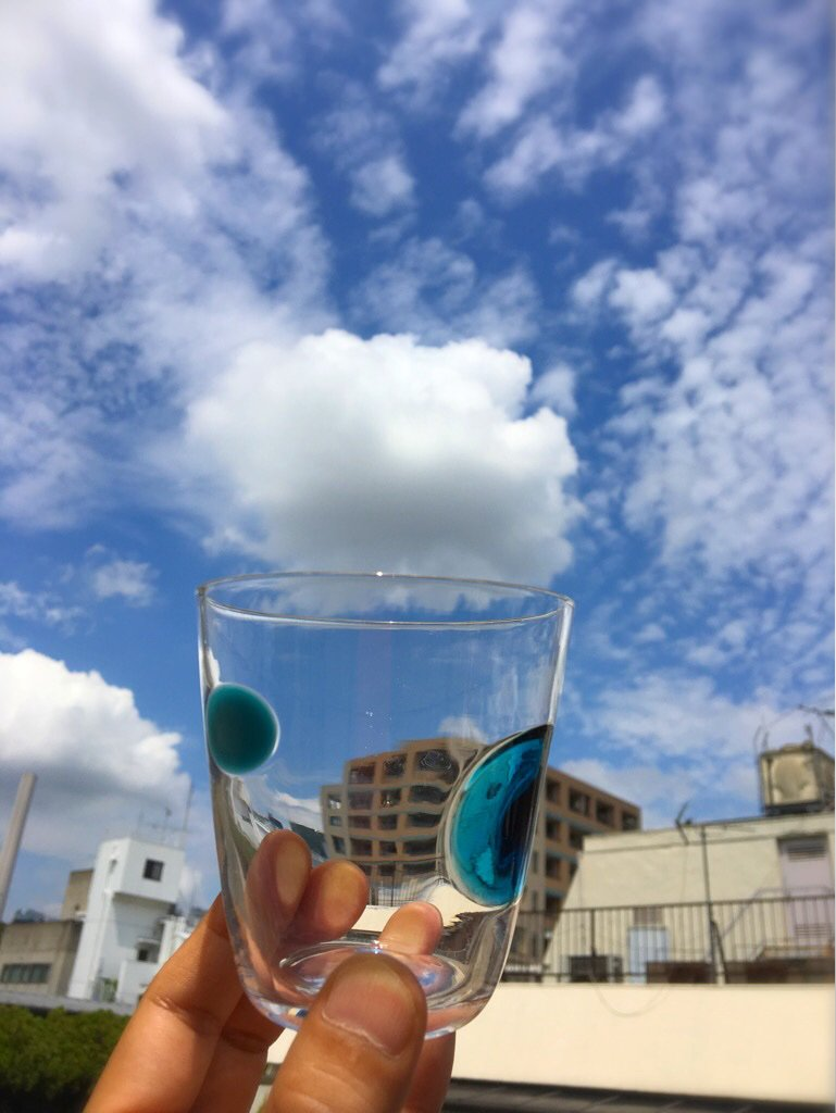 雲、いただきます。  #mysky https://t.co/UA9X3QbgGY