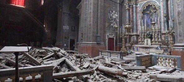 Violent séisme à 150km de Rome CqmBK6LUsAEAyLC