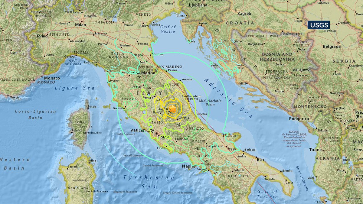 After earthquake in Italy devastates small town, mayor says