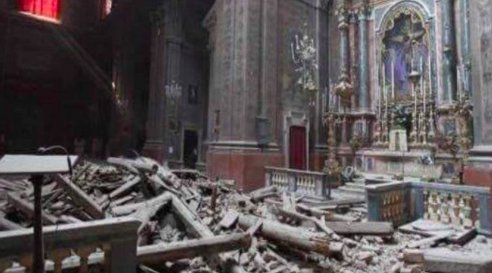 Strong quake rattles central Italy: 'The town isn't here.' ItalyEarthquake via AP