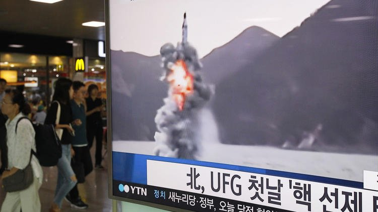North Korea fires submarine-launched missile into sea, South Korean military says