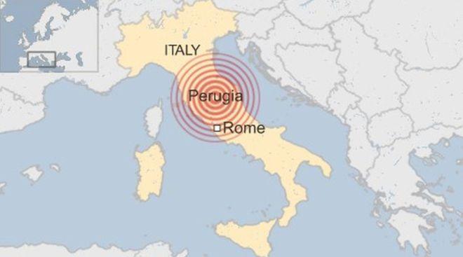[地震]BBCニュース – イタリア中部でM6.2の地震 「町が半分なくなった」 [2016年8月24日]