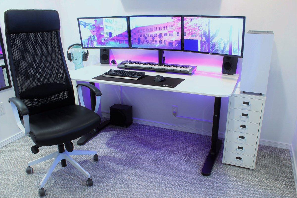 Desk Setups Desksetups Twitter