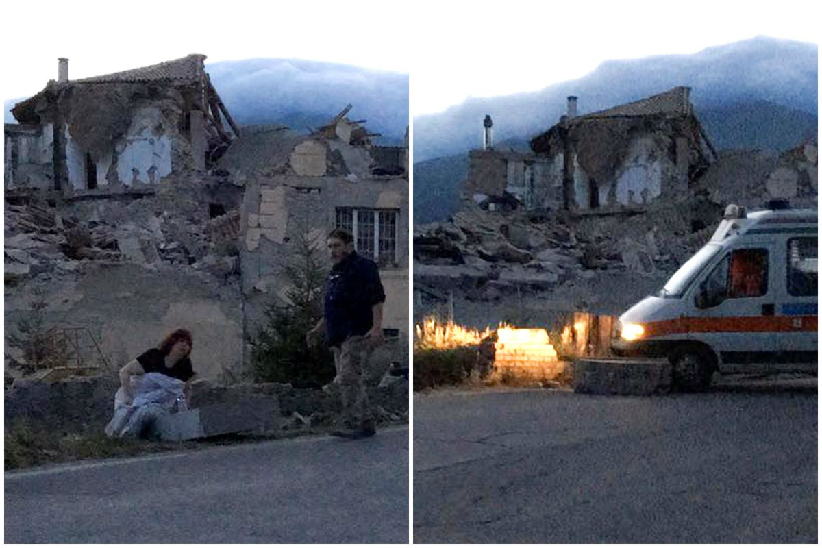 Mayor of Accumoli, Italy says family of 4 located under debris show no signs of life