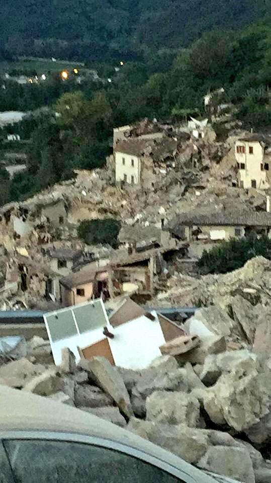 ... of the municipality of Pescara #Arquata. #Marche #Terremoto @TgrMarche