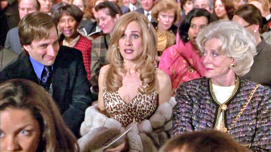 """Maggie Smith News on Twitter: """"Maggie Smith and Sarah Jessica Parker in THE FIRST  WIVES CLUB (1996)… """""""