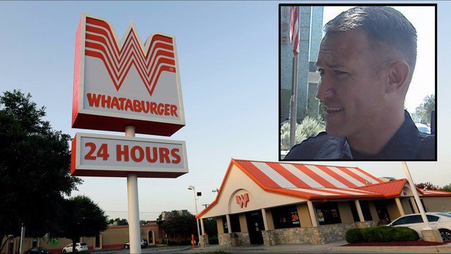 SAPD suspends officer for choosing Whataburger over providing back up