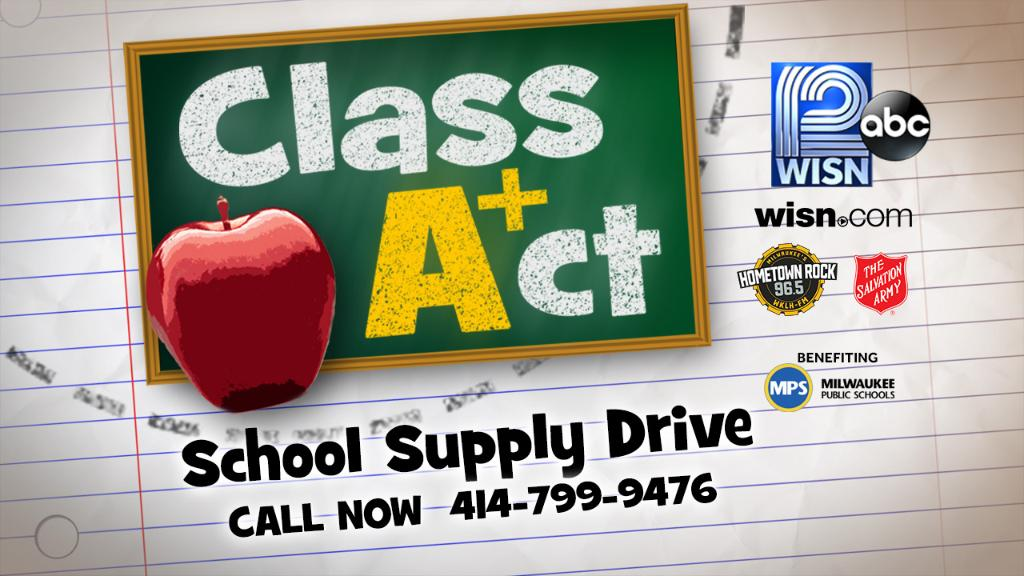 Make a difference in a local child's life. Donate now and help give them the tools they need to succeed. WISN12
