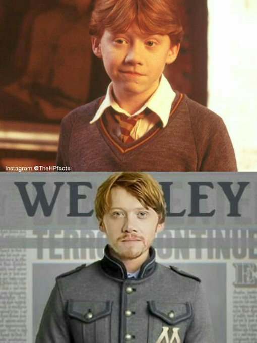 Happy 29th Birthday to Rupert Grint, our perfect Ron Weasley! Long live gingerboy!